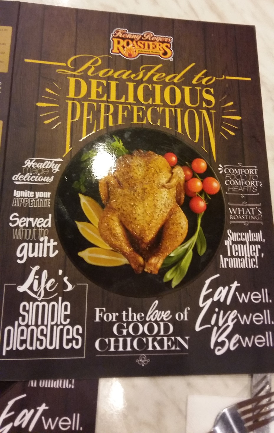 Kenny Rogers Roasters Food Menu In Malaysia Visit Malaysia