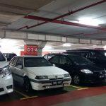 KLIA parking bays