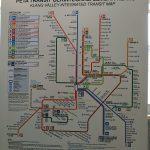 Integrated map Peta KTM, LRT, MRT & ERL for Klang Valley