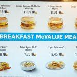 McDonalds Breakfast Menu thumbnail