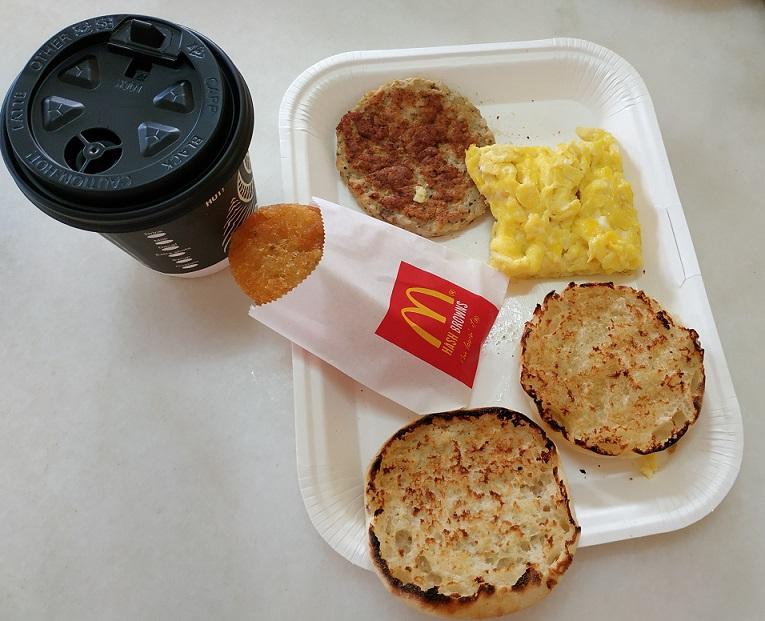 McDonalds Malaysia Breakfast menu