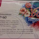 Atria mall Merdeka theme poster drawing contest for kids
