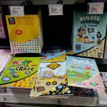 Sticker books sold at Mr DIY