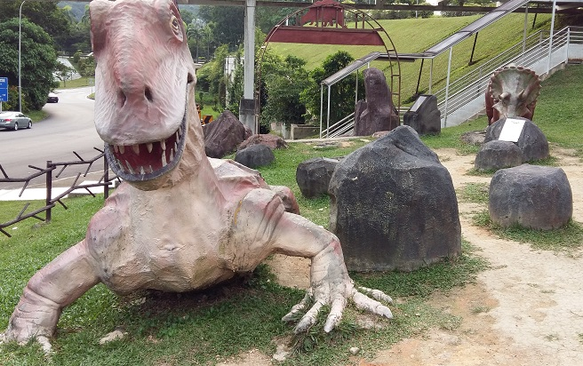 Pusat Sains Negara dinosaurs prehistoric park