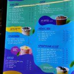 Tealive Malaysia menu