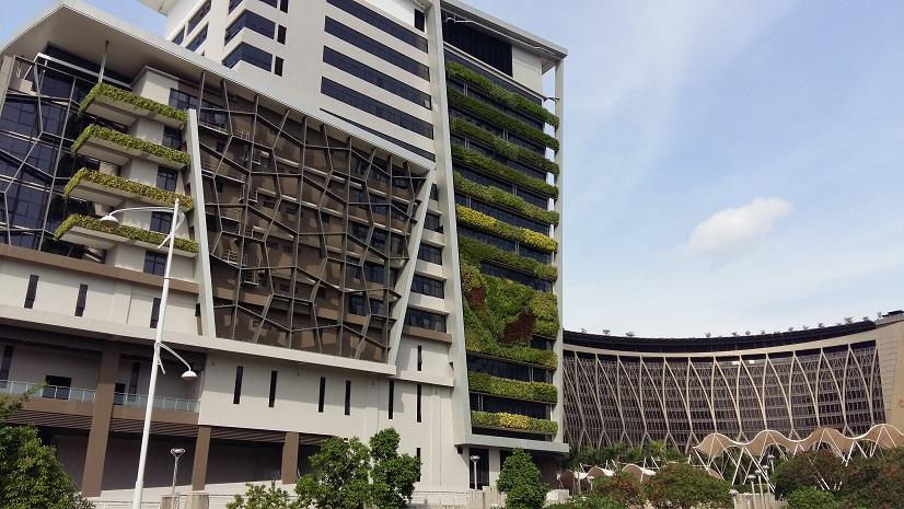 Putrajaya scenic buildings