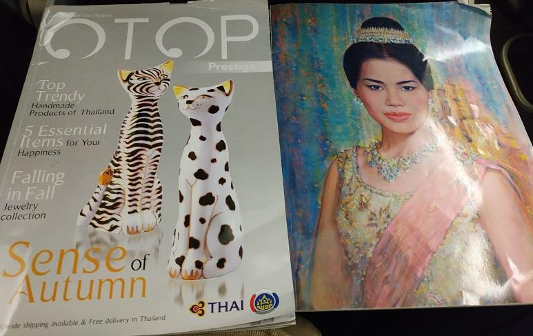 Thai Smiles' Airline on board magazine