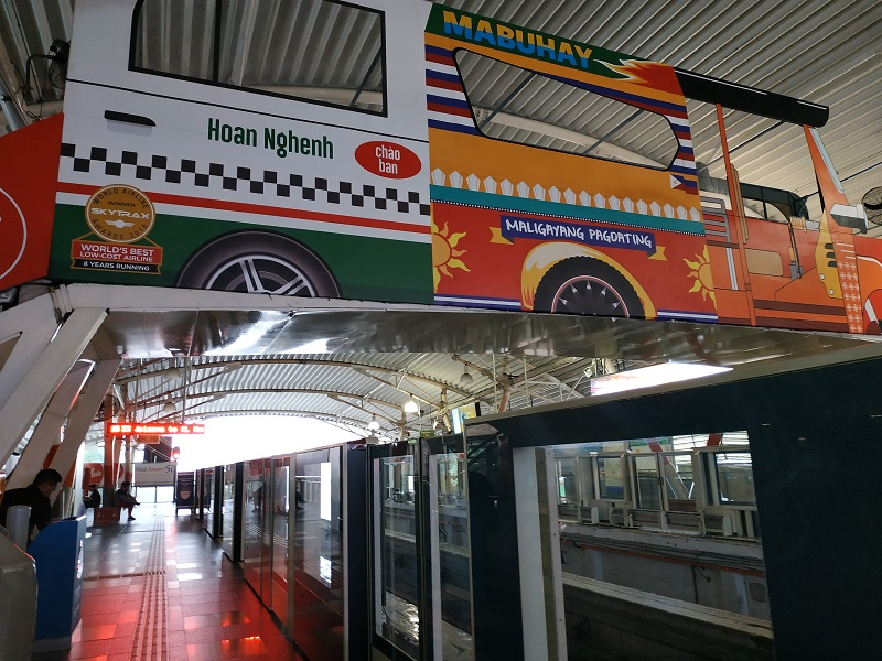 Bukit Bintang KL monorail station