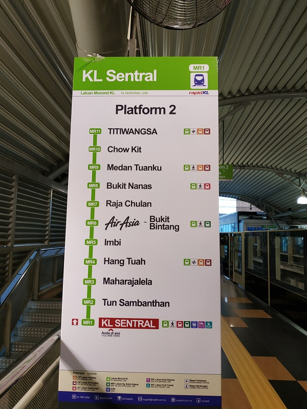 KL monorail station