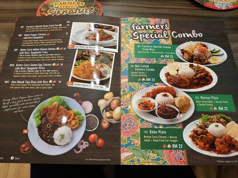 Farmer's Street food and desserts