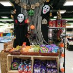 Halloween deco at Cold Storage