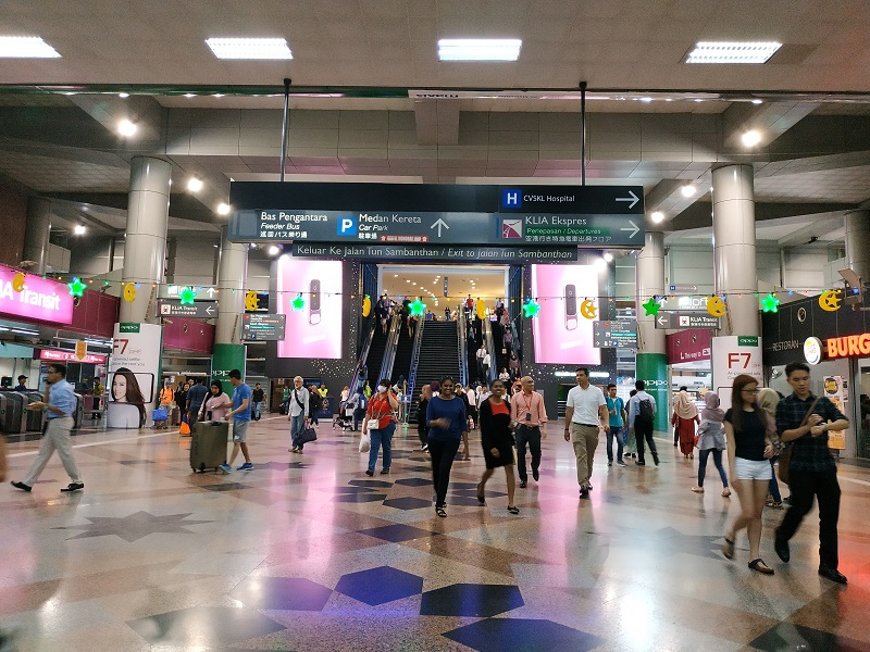 Nu Sentral connecting KL Sentral to KL Monorail