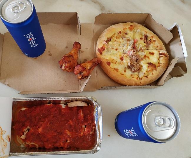 Domino Pizza Malaysia menu