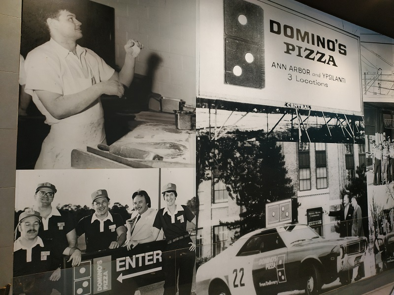 Domino Pizza old picture