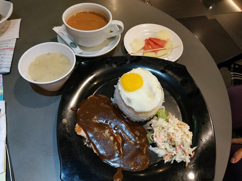 Wong Kok Char Chan Teng 旺角茶餐厅 set lunch