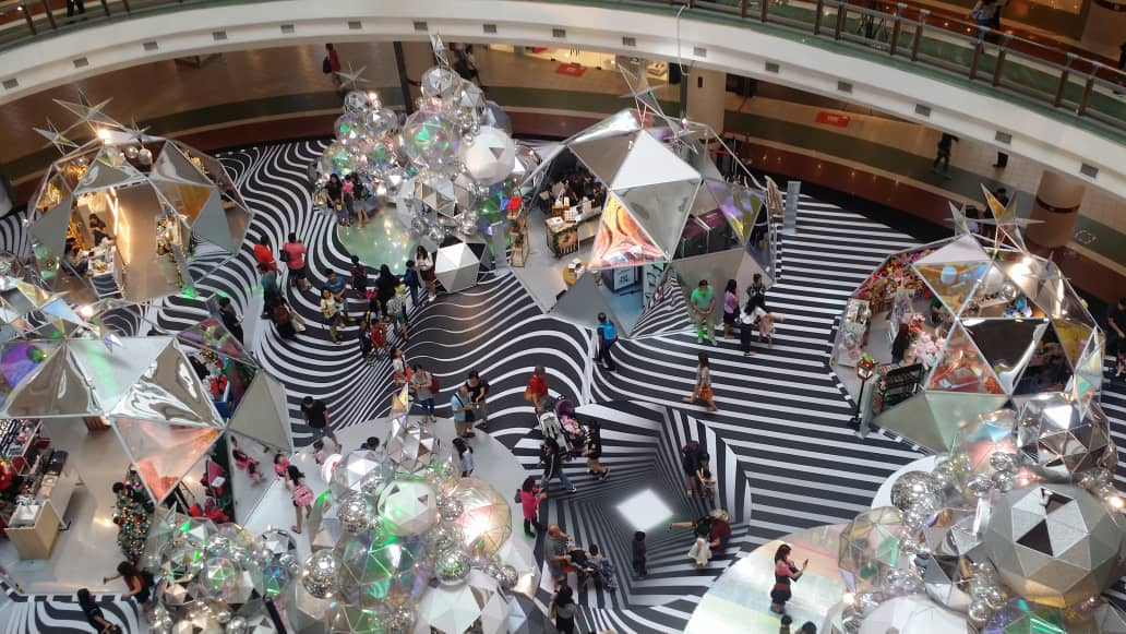 Christmas Decoration at One Utama shopping mall