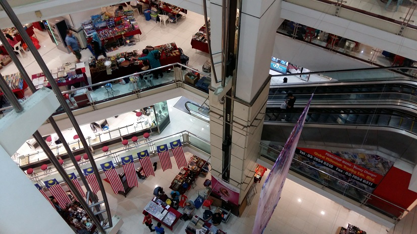 Amcorp Weekend Flea market Petaling Jaya