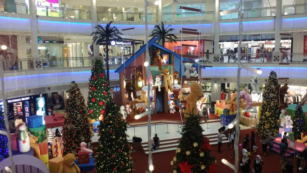 Christmas Decorations at The Curve, Mutiara Damansara