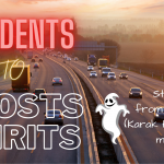 How spirits or ghost cause road accidents