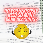 Minimize the bank accounts you have to manage your finance better