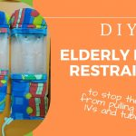 DIY Hand Restraints for Elderly/ Dementia to stop from pulling out the tube