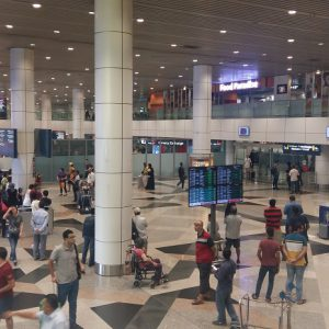 KLIA airport arrival hall